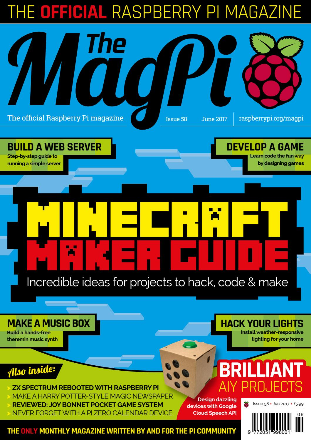 magpi 58 by Frans Kouwenhoven - issuu