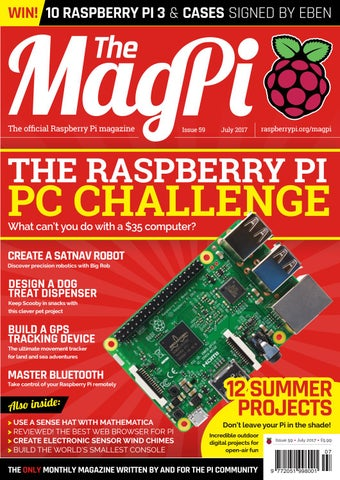 magpi 59 by Frans Kouwenhoven - issuu