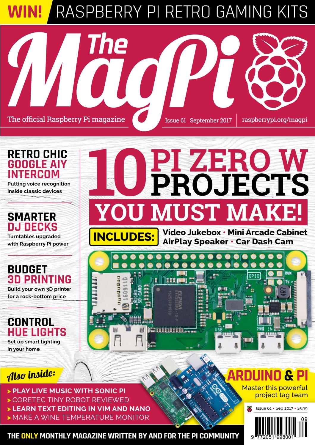 magpi 61 by Frans Kouwenhoven - issuu
