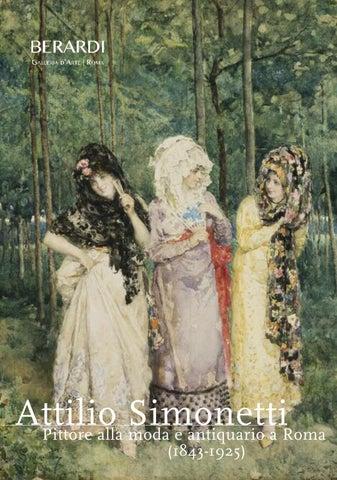 Attilio Simonetti (1843 - 1925). Pittore alla moda e antiquario a ... 9c7edaf3eb1