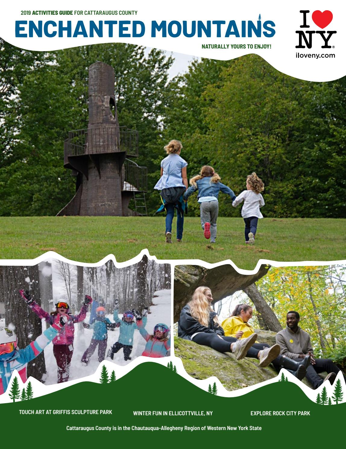 9c5333ef 2019 Enchanted Mountains Activities Guide by Cattaraugus County - issuu