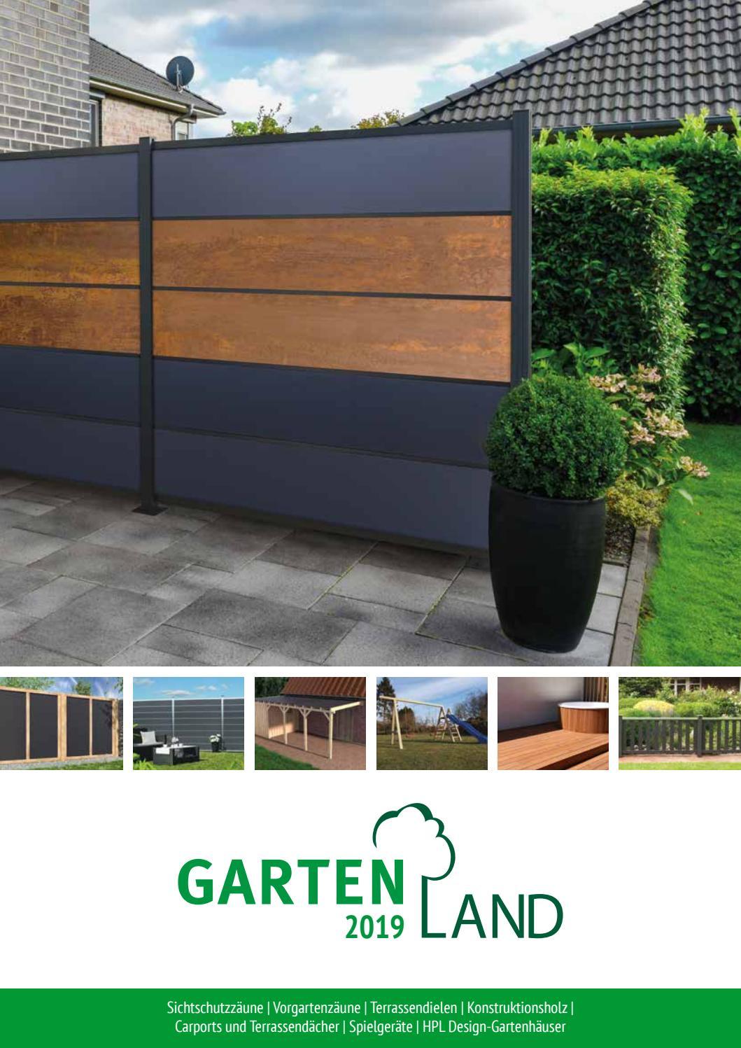 Gartenideen Aus Wpc Und Holz Gartenland 2019 By Gartenland Vogt