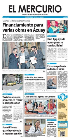 El Mercurio-27-02-2019 by Diario El Mercurio Cuenca - issuu 51913a80ad3