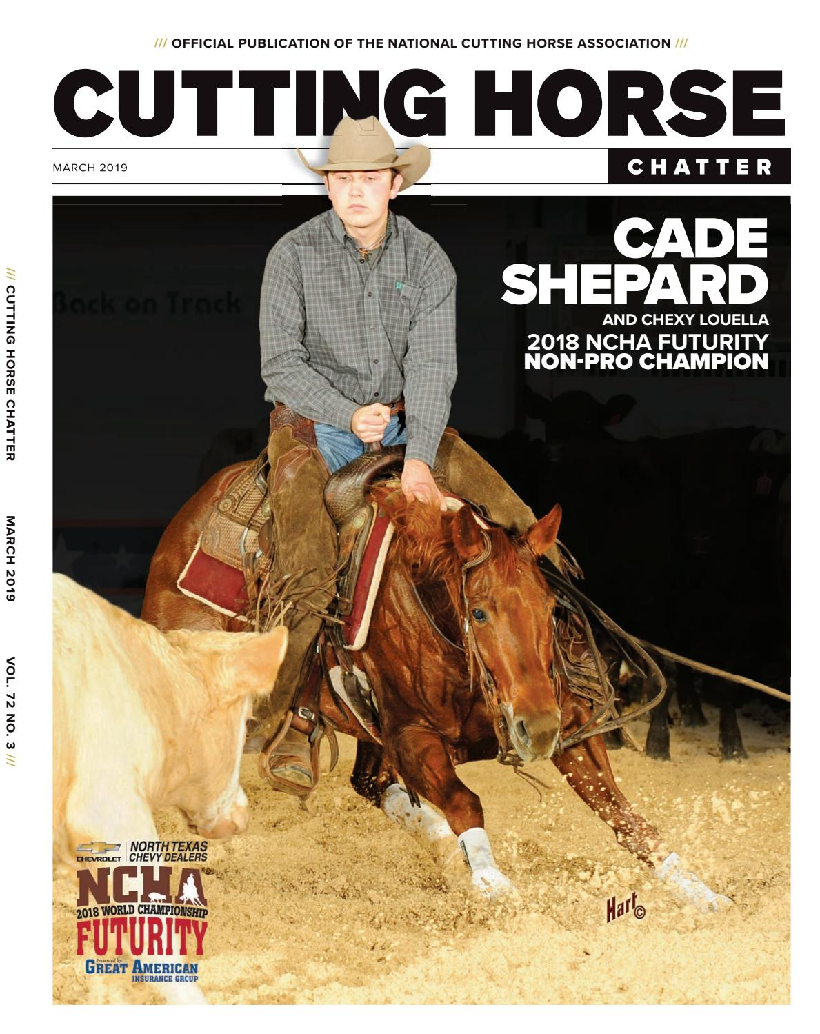 79830aba92c Cutting Horse Chatter by Cowboy Publishing Group - issuu