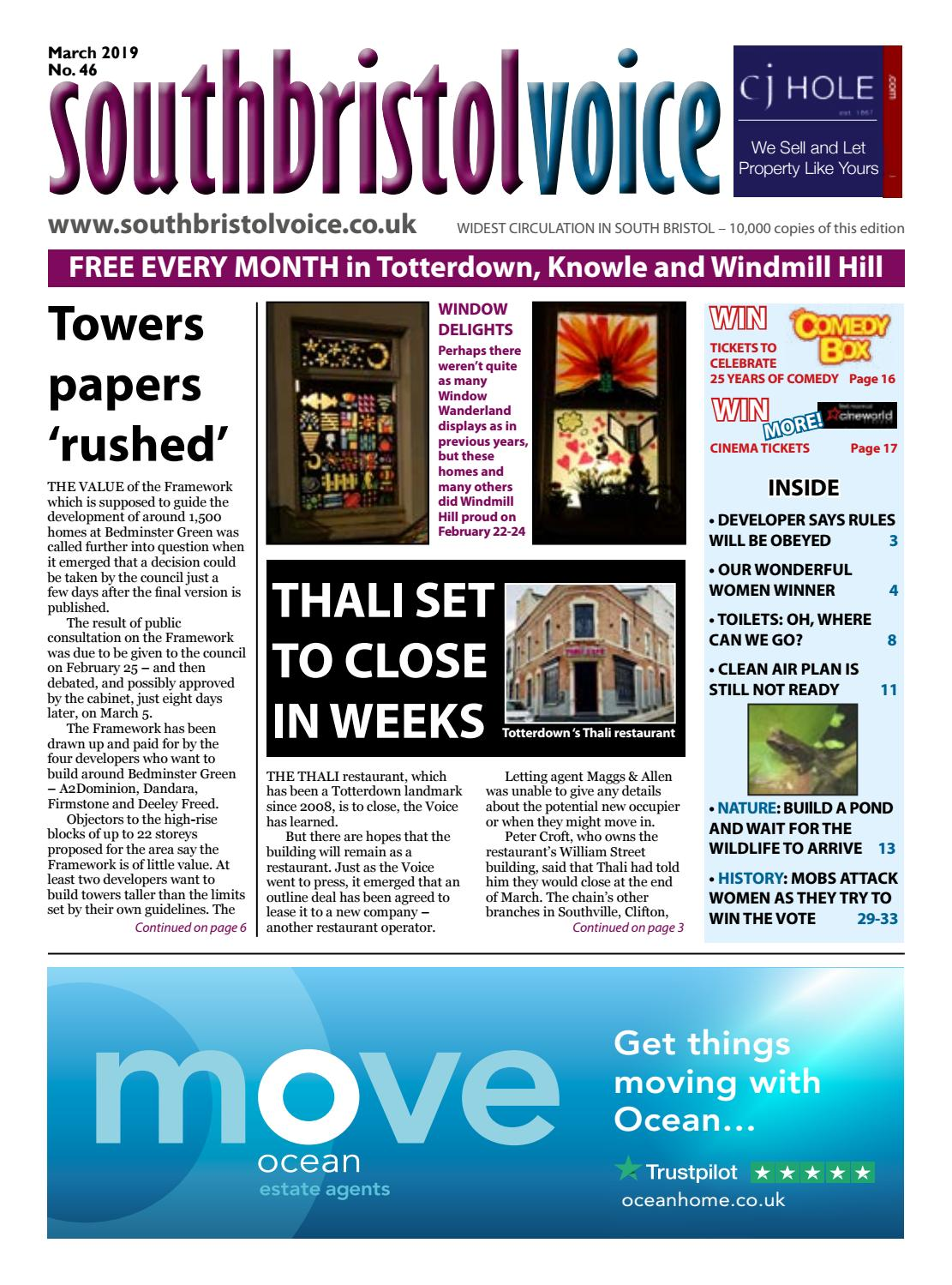 3d6cad1d7f South Bristol Voice March 2019 by South Bristol Voice - issuu