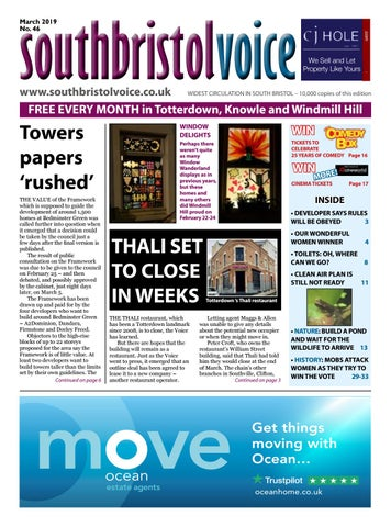adde9d8dc2 South Bristol Voice March 2019 by South Bristol Voice - issuu