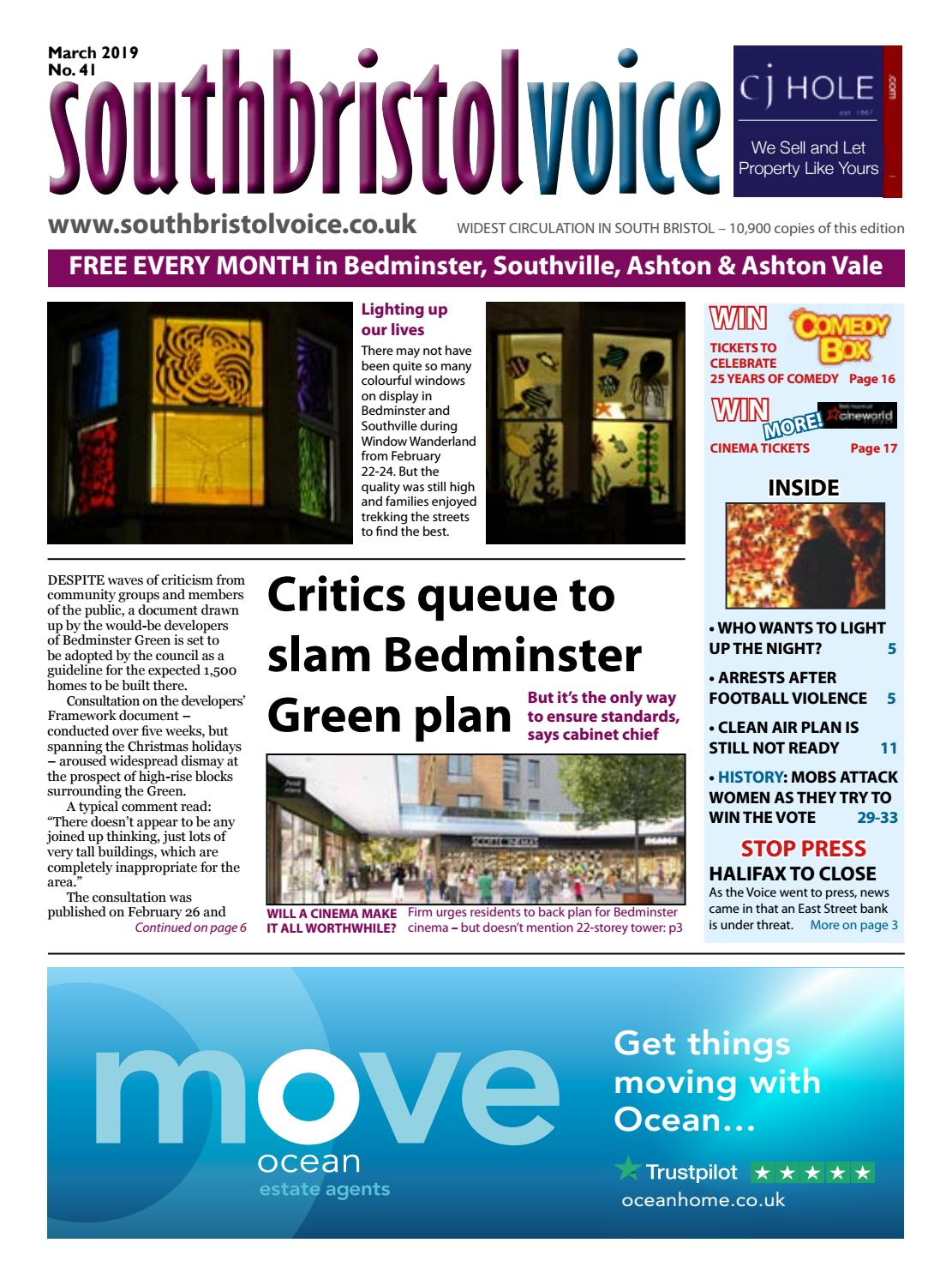0ee50376 South Bristol Voice Bedminster March 2019 by South Bristol Voice - issuu