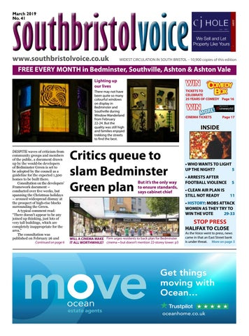 68aa78c0413 South Bristol Voice Bedminster March 2019 by South Bristol Voice - issuu