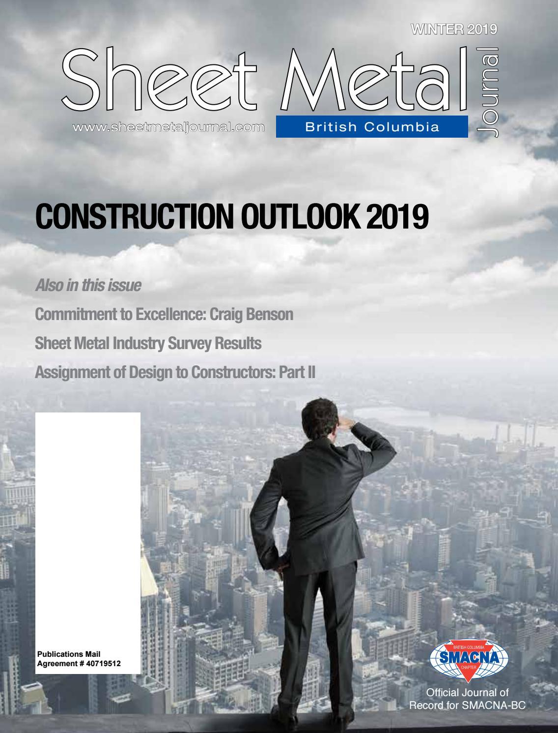 Sheet Metal Journal - British Columbia Winter 2019 by Sheet