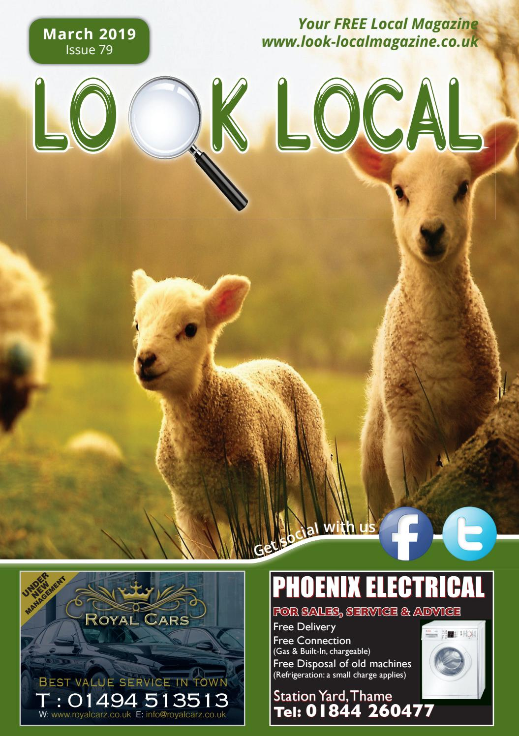Look Local Magazine, March 2019 Edition, Issue 79 by Look