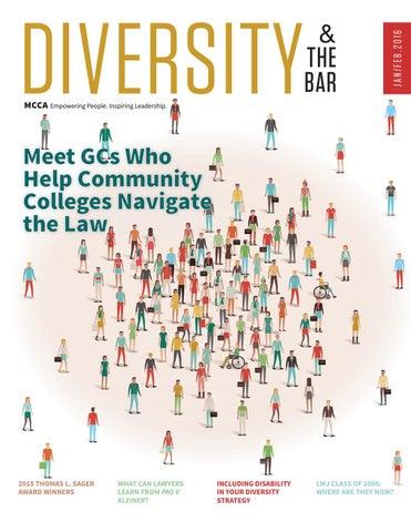 2016 Jan/Feb - Diversity & The Bar Magazine by MCCA Diversity & the