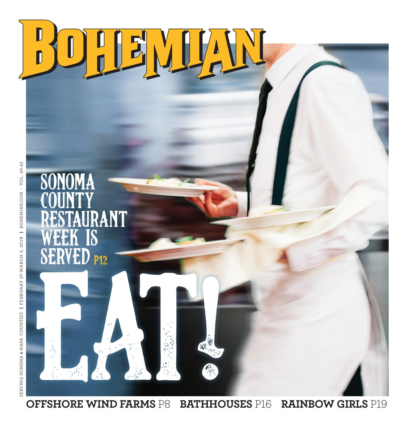North Bay Bohemian Feb 27-March 5, 2019 by Metro Publishing