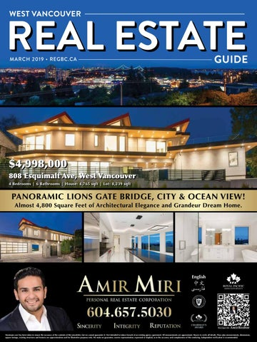 west vancouver real estate guide march 2019 by british columbia real rh issuu com