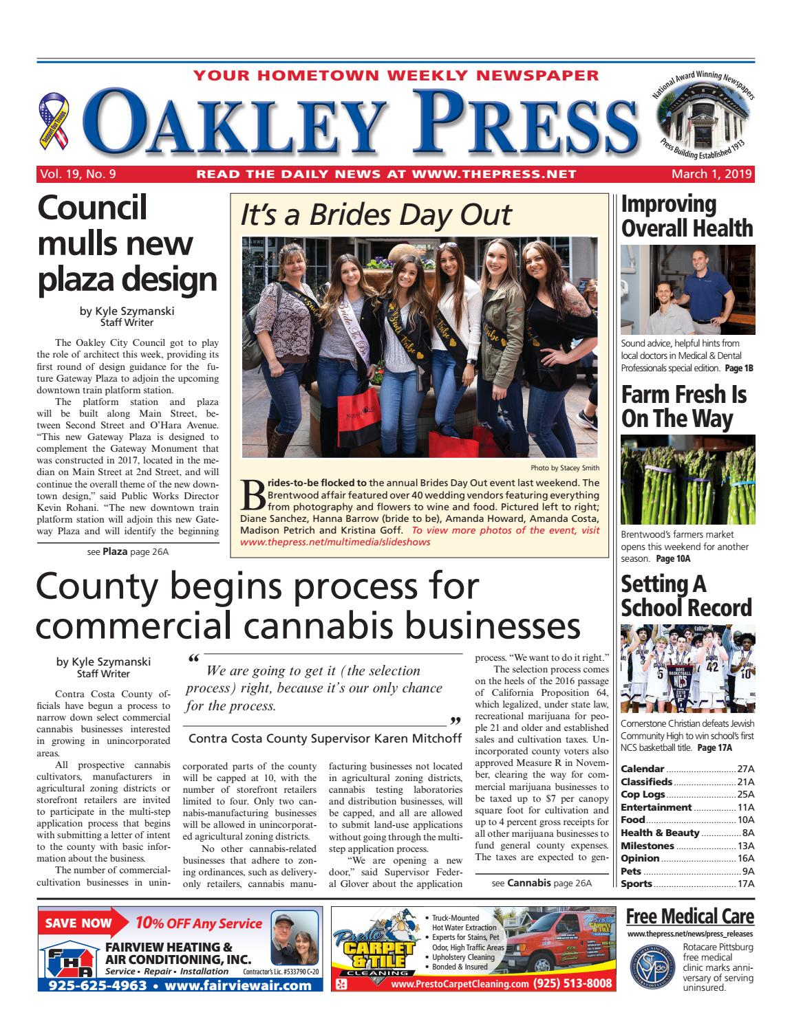 a9684c537f0 Oakley Press 03.01.19 by Brentwood Press   Publishing - issuu