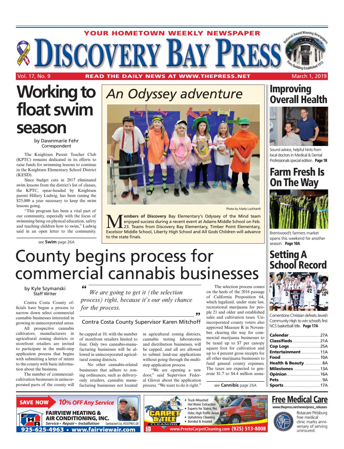 Discovery Bay Press 03.01.19 by Brentwood Press   Publishing - issuu 347b5148d
