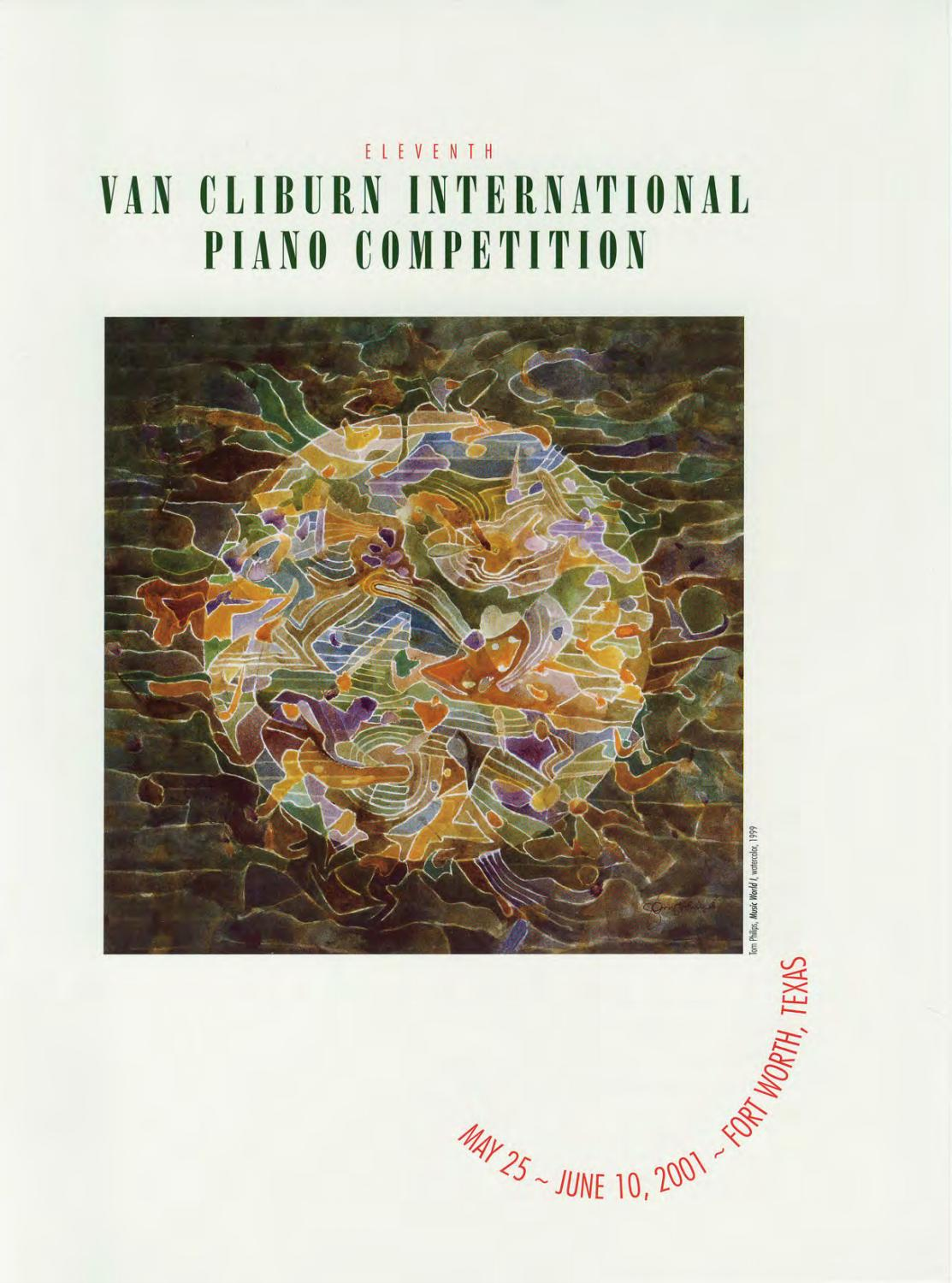 eleventh van cliburn international piano competition program bookeleventh van cliburn international piano competition program book (2001) by the cliburn issuu