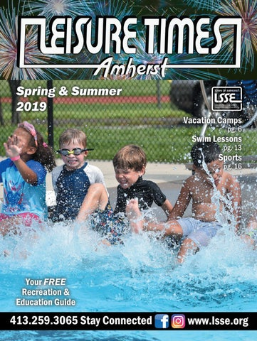 Spring & Summer 2019 by Amherst Leisure Services - issuu