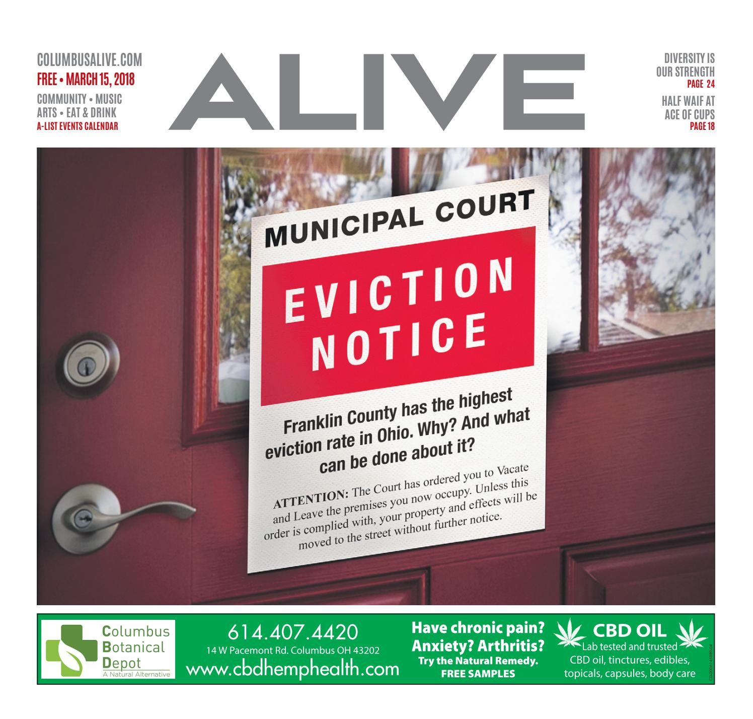 b8d29edc282e39 Columbus Alive 3 15 2018 by The Columbus Dispatch - issuu