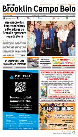 27812e403 GAZETA DO BROOKLIN - Edição 1189 - São Paulo, 02 a 08 de março de 2019