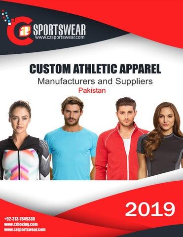 Custom Sportswear Manufacturers in Sialkot Pakistan by