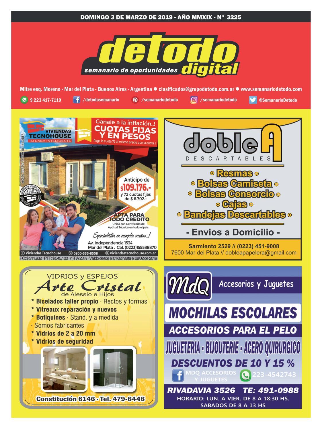 Semanario Detodo - Edición N° 3225 - 03 03 2019 by Semanario Detodo - issuu ca78c93bb7332