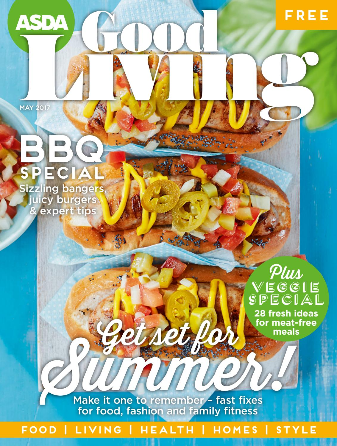 Magnificent Asda Good Living Magazine May 2017 By Asda Issuu Download Free Architecture Designs Scobabritishbridgeorg