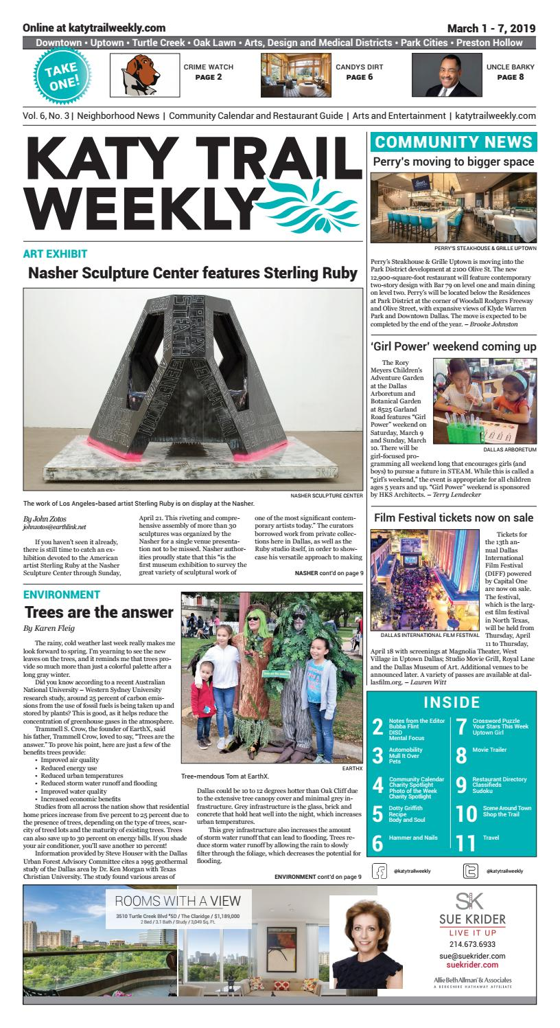 KTW 03-01-19 by Katy Trail Weekly - issuu