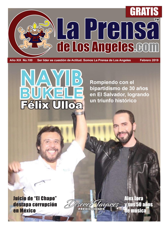La Prensa de Los Angeles Febrero 2019 by Lpdla Cartelera - issuu