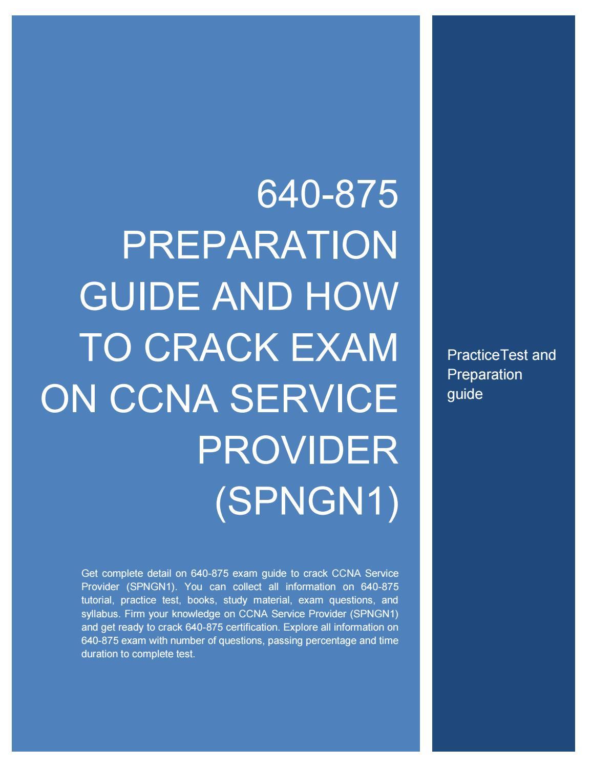 Ccna Service Provider Book