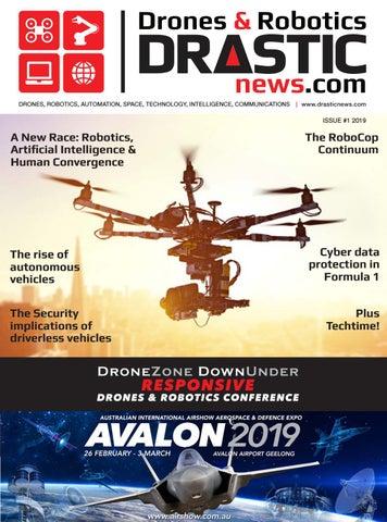 Page 1 of Drones & Robotics - DRASTICnews.com