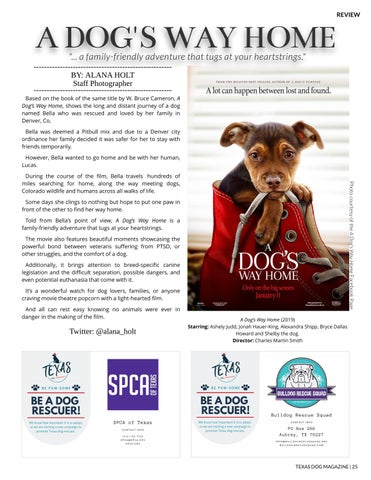 Page 25 of Texas Dog Magazine | Spring 2019