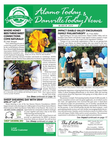 2019 March ~ Alamo Today & Danville Today News by The