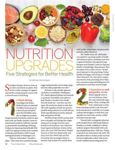 Page 16 of Nutrition Upgrades: Five Strategies for Better Health