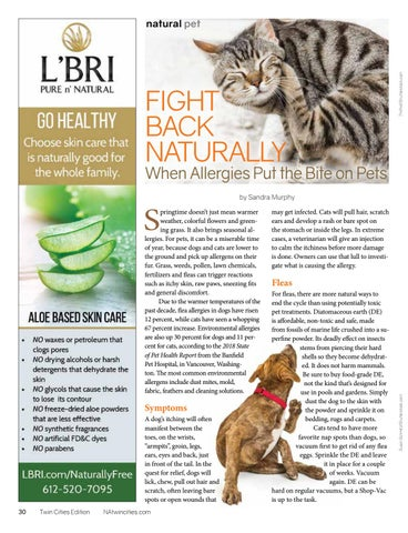 Page 30 of Fight Back Naturally: When Allergies Put the Bite on Pets