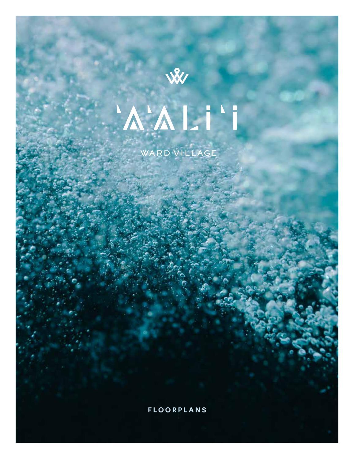 Aalii Ward Village Digital Floor Plans By Jonathan Pang R Issuu