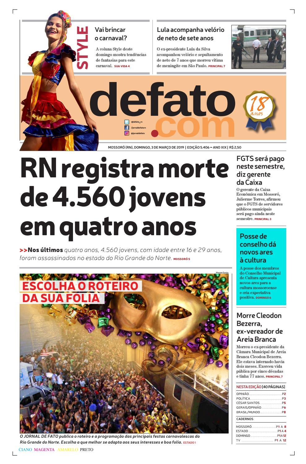 10faf7d61 Jornal de Fato by Jornal de Fato - issuu