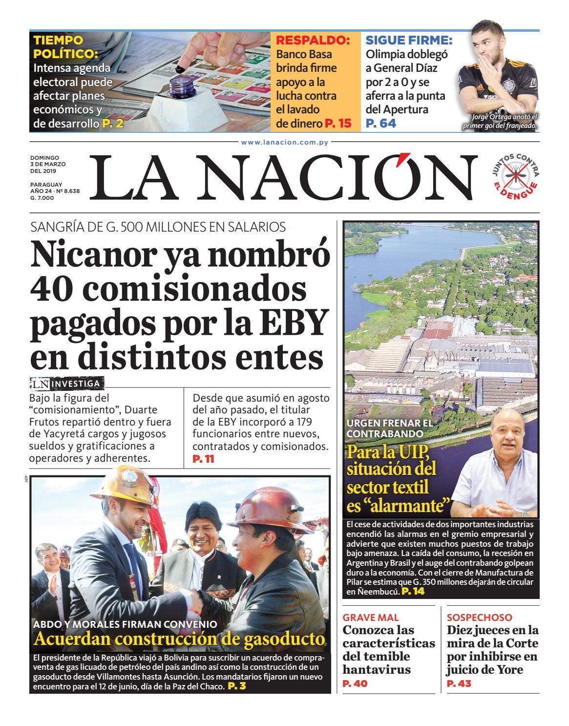 6543c0602d578 DIARIO LA NACIÓN - EDICIÓN 8.638 by La Nación - issuu