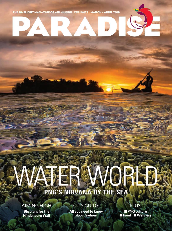 93bcd6f4b5 Paradise  the in-flight magazine of Air Niugini