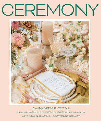 140abeedd96baa CEREMONY Weddings   Events 2019 by Ceremony Magazine - issuu