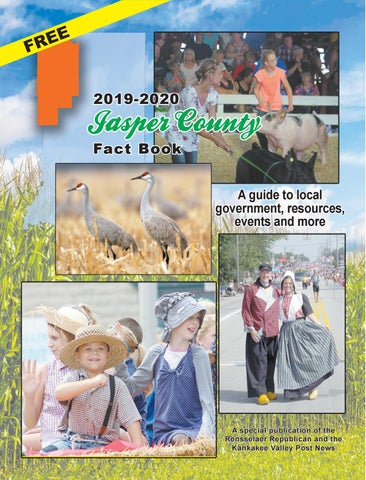 Pulaski County Fair 2020.2019 20 Jasper County Fact Book By Rensselaer Republican