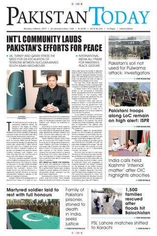 E-Paper PDF 4 March (LHR) by Pakistan Today - issuu