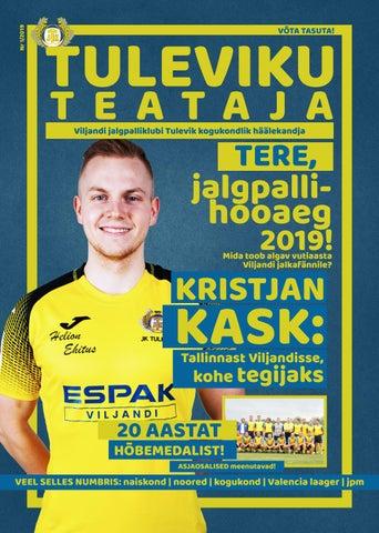 8dbb4fc0f3f Tuleviku Teataja nr.1 by Viljandi jalgpalliklubi Tulevik - issuu