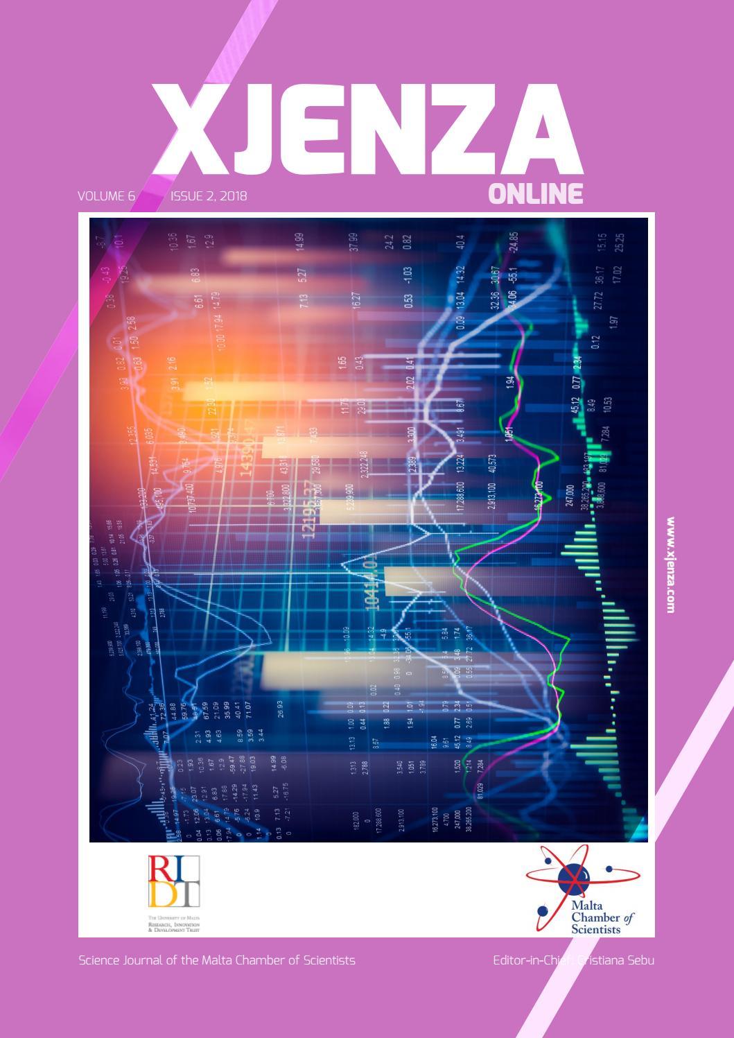 Xjenza Line New Series Vol 6 Iss 2 2018 By Malta