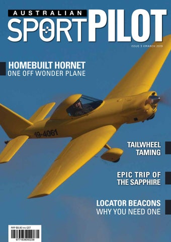 Australian Sport Pilot magazine - March 2019 by Recreational
