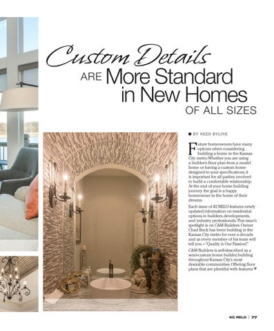 Page 79 of C&M Builders Feature Article KC RELO Magazine Issue 9