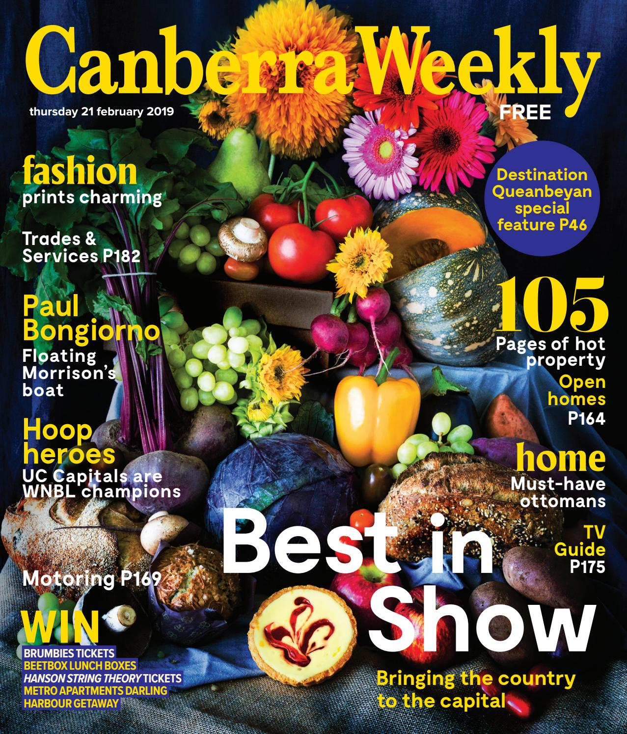 6d6ae63ade455 21 February 2019 by Canberra Weekly Magazine - issuu