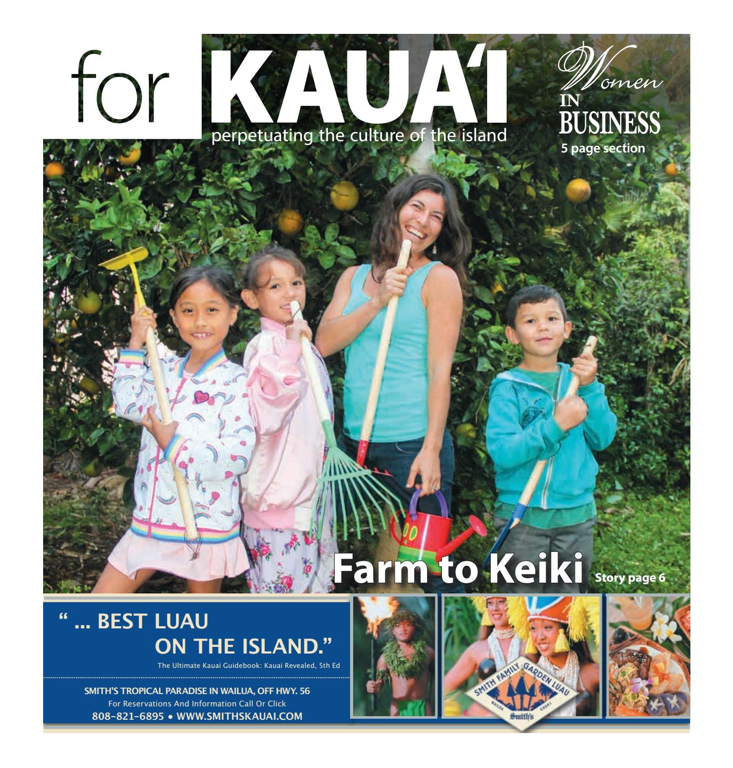 For Kauai March 2013 by For Kauai - issuu