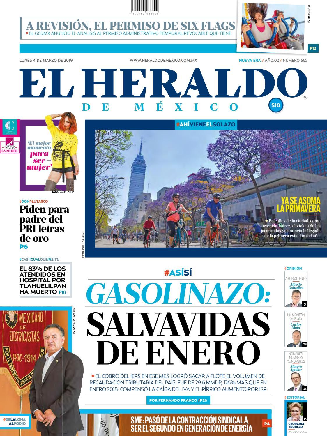 67b1cae716 4 de marzo de 2019 by El Heraldo de México - issuu