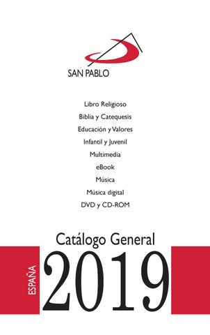 c5ac1aa269b Catálogo General San Pablo 2019 by Editorial San Pablo - issuu