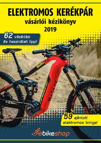 7f1151a7b957 Ebikeshop elektromos kerékpár kézikönyv 2019 by ebikeshop.hu - issuu